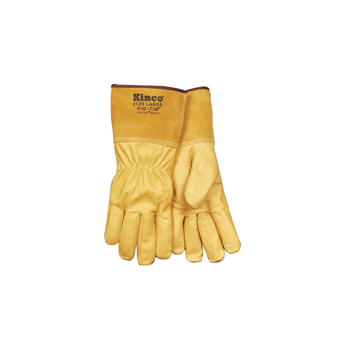 Kinco Grain Pigskin Leather Tig Welding Gloves 0129